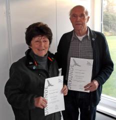 Hannelore Ramm und Erwin Köhler